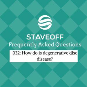 degenerative disc disease, DDD, low back, arthritis,
